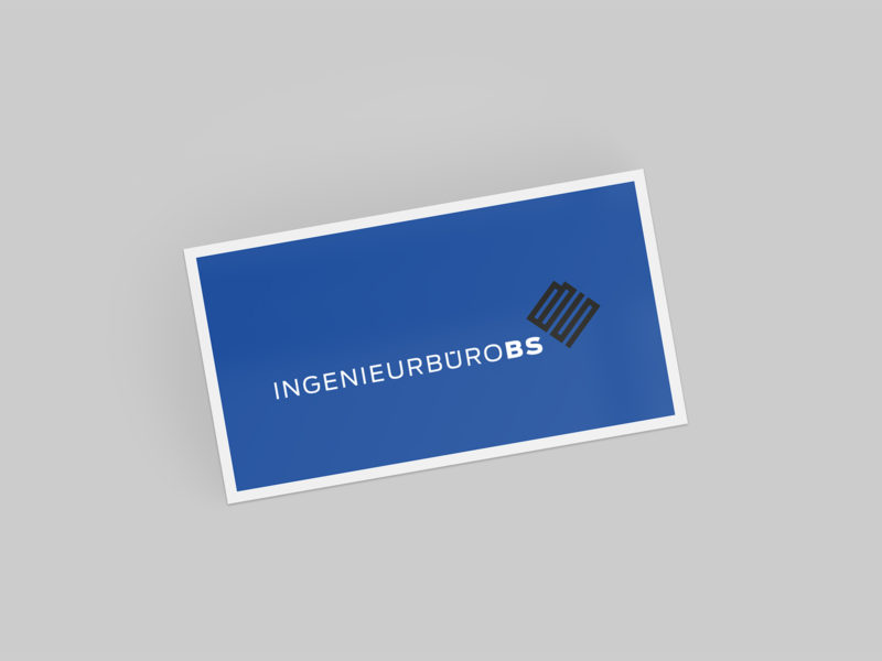 INGENIEURBÜRO BS / LOGO DESIGN