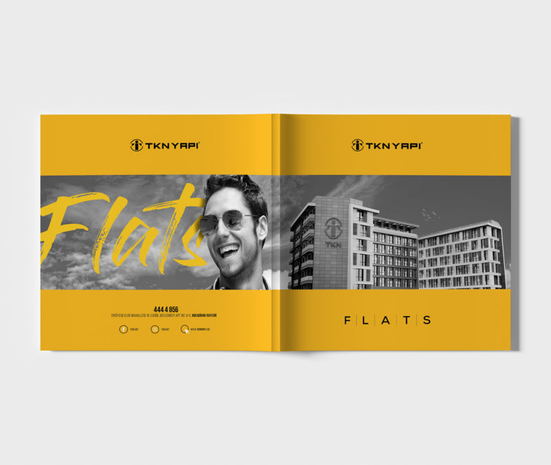 TKN FLATS / CATALOG DESIGN